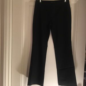Theory basic black trousers